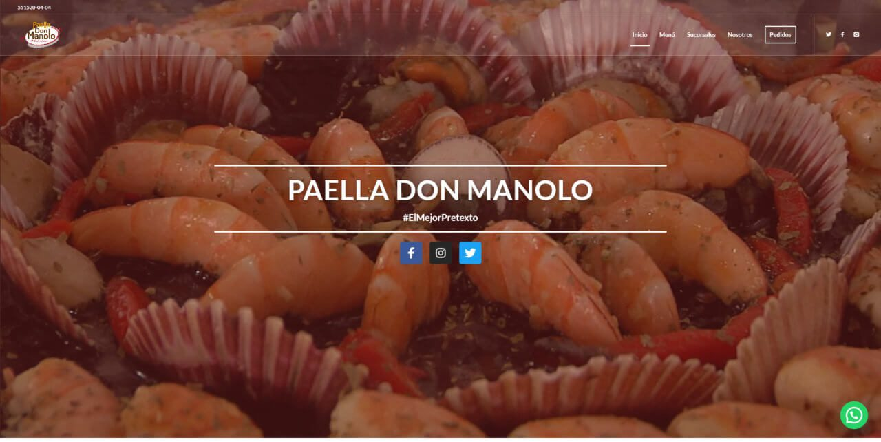 Paella Don Manolo