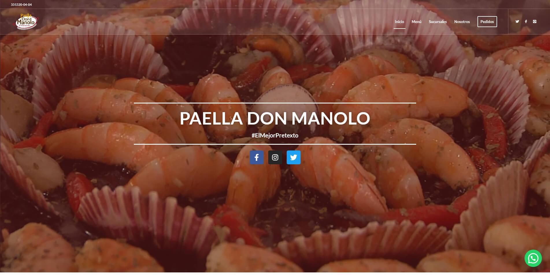 Paella Don Manolo