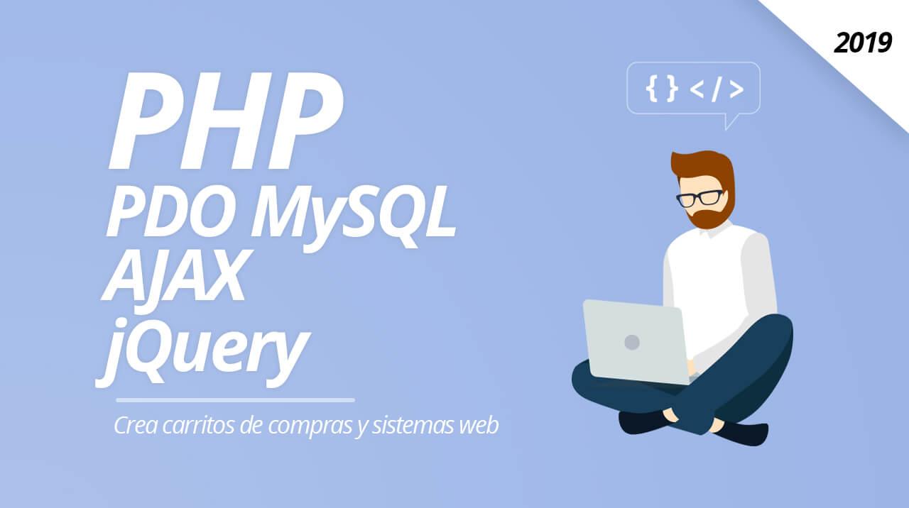Curso php mysql crea 3 sistemas prácticos